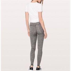 Lululemon wunder under high rise leggings grey